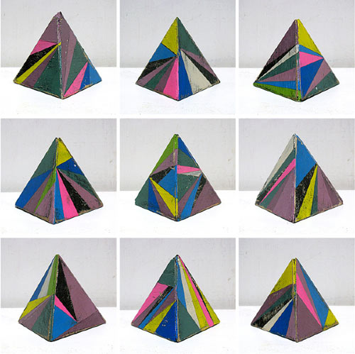 Geometric Wooden Sculptures by Aaron Moran in main art  Category