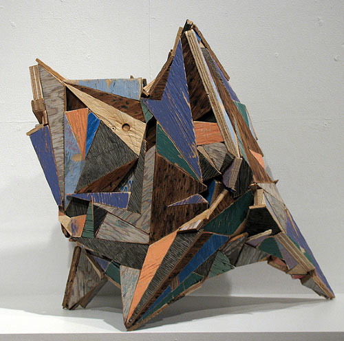 Geometric Wooden Sculptures by Aaron Moran in art  Category
