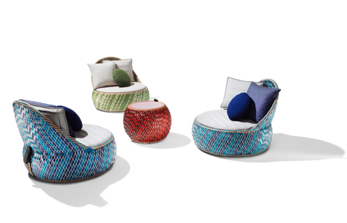 Dala by Stephen Burks with Dedon in main home furnishings  Category