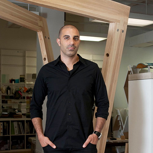 Where I Work: Dror Benshetrit in technology style fashion sponsor interior design home furnishings architecture  Category
