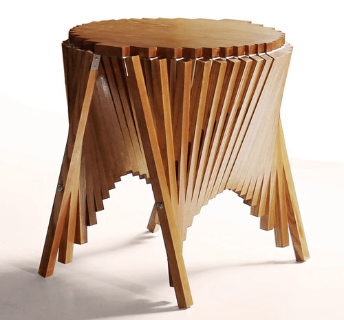 Rising Side Table by Robert van Embricqs