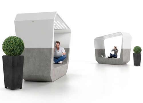 Aster Urban Lounger by Emo Design
