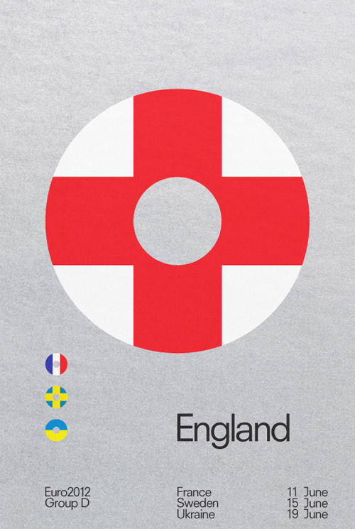 Euro 2012 Posters by David Watson in main art  Category