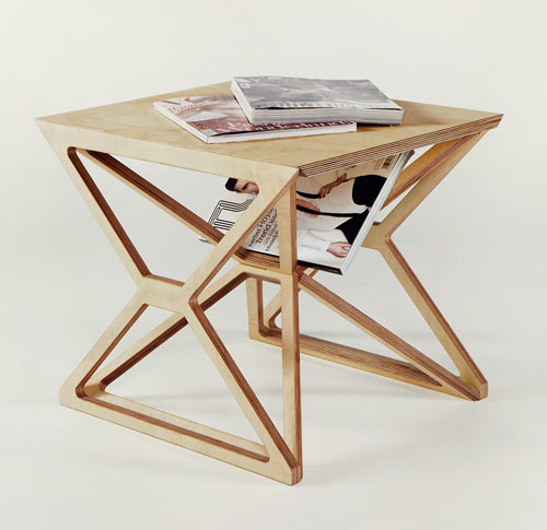 Spaceframe Furniture by Gustav Düsing