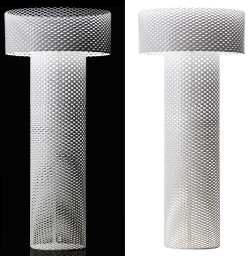 Lace Metal Lamp by Form Us With Love for Cappellini in home furnishings  Category
