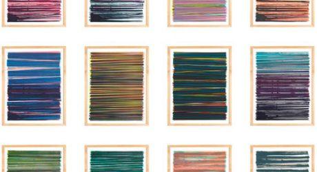 Line Series Monoprints by Dana McClure