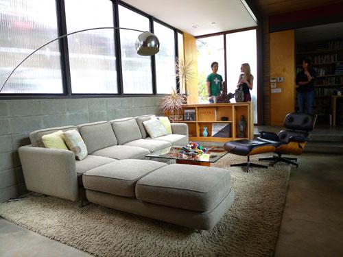 dwell on design exclusive house tour livinghome santa i
