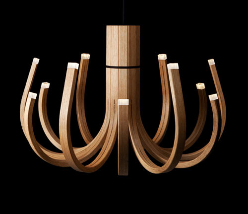 June Chandelier by Mikko Paakkanen for Nikari