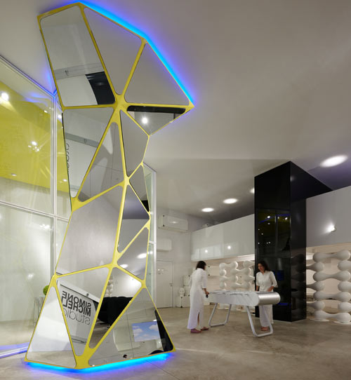 Deconstructivism Furniture Interior Design ~ Simone micheli studio gallery design milk