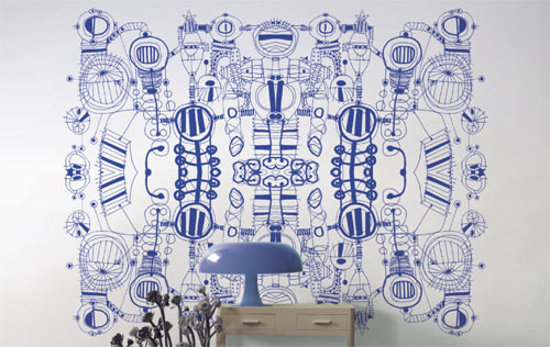 TODO MUTA Illustrative Surface Designs in interior design home furnishings art  Category