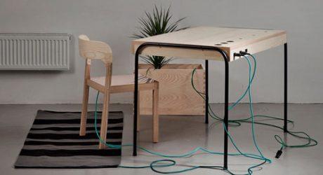 Energy-Producing Workspace by Eddi Törnberg
