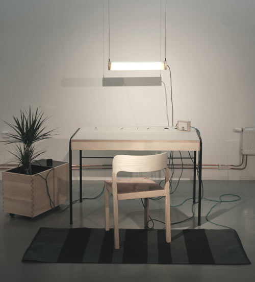 Energy Producing Workspace by Eddi Törnberg in technology home furnishings  Category
