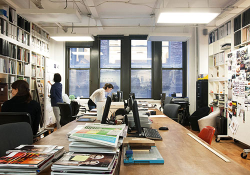 Where i work dror benshetrit design milk - Bureau style new york ...