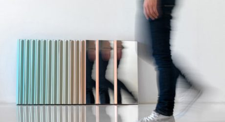 Zig Zag Mirror by MUT DESIGN