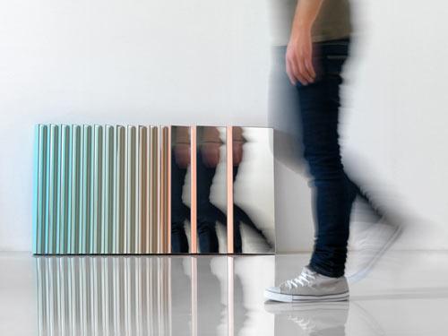 Zig Zag Mirror by MUT DESIGN