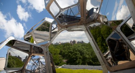 Cloud Cities by Tomás Saraceno