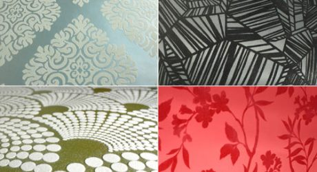 Designyourwall.com Now Offers Astek's Flocked Wallpaper