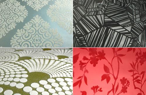 Designyourwall.com Now Offers Astek's Flocked Wallpaper