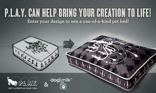 Design Your Own Pet Bed and Win It from P.L.A.Y.! in style fashion sponsor news events  Category