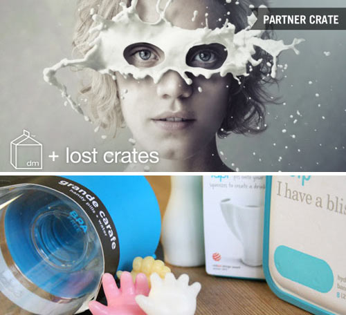 Design Milk + Lost Crates Monthly Subscription