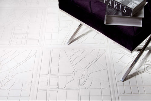 City Floor and Wall Tiles by Renata Rubim