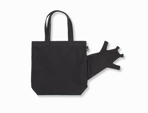 Bizarre Roopuppet Rootote Bags by Nendo