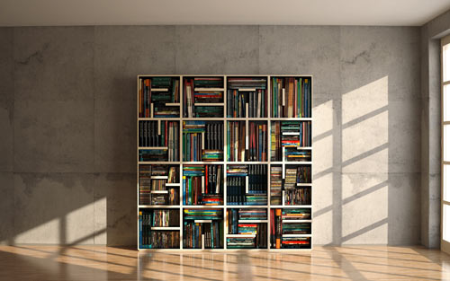 ABC Shelf for Saporiti: Read Your Bookcase in main home furnishings  Category