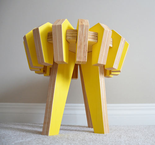 Asterisk: A Children's Puzzle Stool