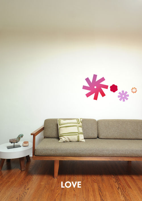Elegant Customize it any way you want and you ull get your personalized design in the form of non vinyl PVC and phthalate free wall decals