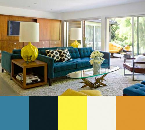 Colorful Interiors by Jamie Bush