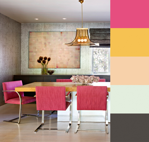 Colorful Interiors by Jamie Bush in main interior design  Category