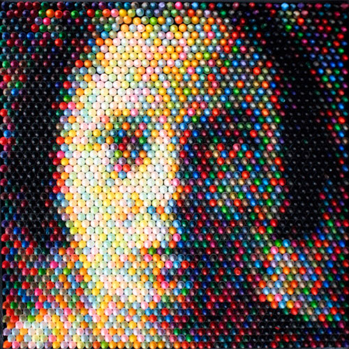 Crayon Sculptures by Christian Faur