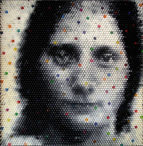 Crayon Sculptures by Christian Faur in main art  Category