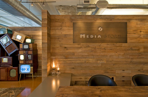 Media Storm Office by DHD Architecture and Design in main interior design architecture  Category