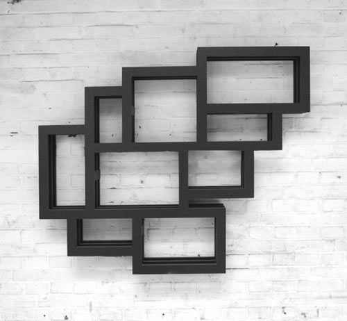 Frames Wall Shelf by Gerard de Hoop - Design Milk