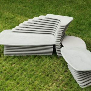 Doble Paso Seating by Lucy Salamanca for Purapietra