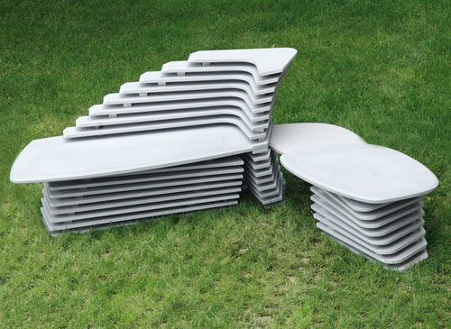 Doble Paso Seating by Lucy Salamanca for Purapietra in main home furnishings  Category