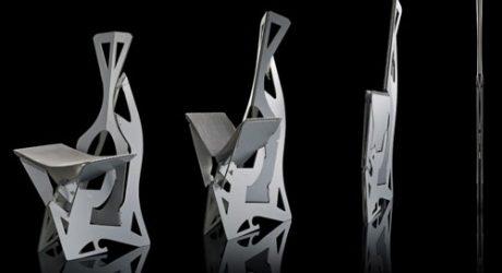 Folditure Leaf Chair by Alexander Gendell