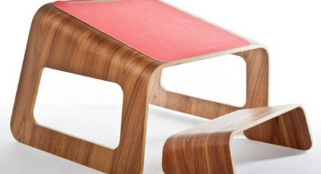 Knelt Desk by Ubiquity Design Studio