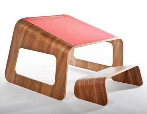 Knelt Desk by Ubiquity Design Studio