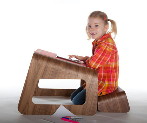 Knelt Desk by Ubiquity Design Studio in main home furnishings  Category