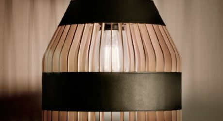 Lath Lamps by Jonathan Dorthe for Atelier-D