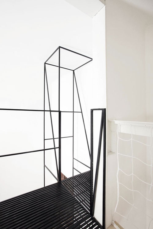 Metal Staircase by Francesco Librizzi Studio in main interior design architecture  Category