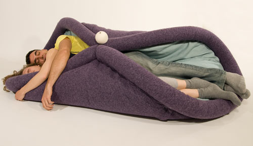 Daisuke Motogiu0027s Sleepy Chair Is Like A Miniature Version Of A Bed With  Just Enough Room To Curl Up.