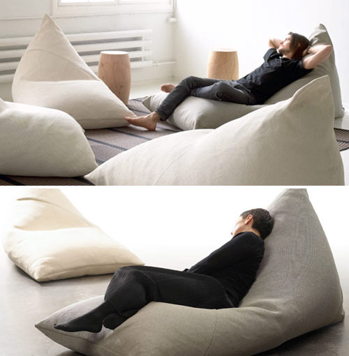 The My (top) And The Roo (bottom) Were Designed By Ulla Koskinen For  Finnish Company, Woodnotes. The Minimal Design Is Like A Modern Day Bean  Bag Chair For ...