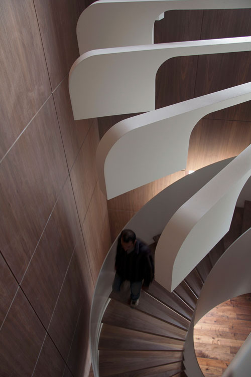 Spiral Staircase Lighting by .PSLAB in architecture  Category