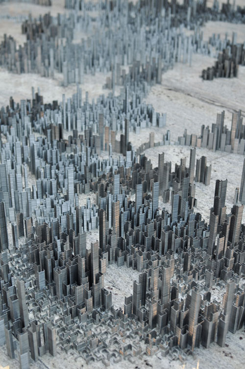 Peter Roots Ephemicropolis   A City of Staples in art  Category