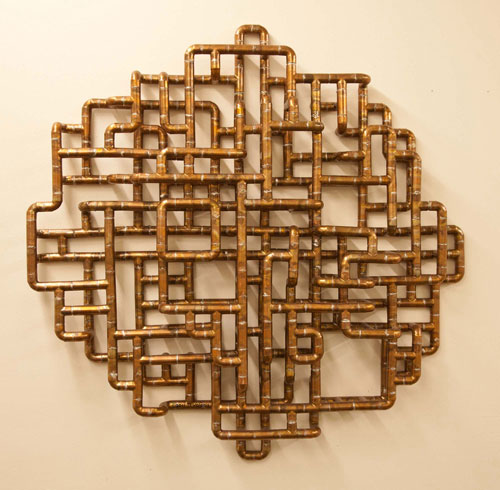 Sculptural Copper Tubing Furniture and Art by TJ Volonis ...