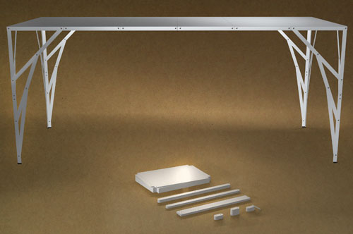 Postable Table by Studio Toer