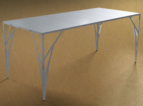 Postable Table by Studio Toer in main home furnishings  Category